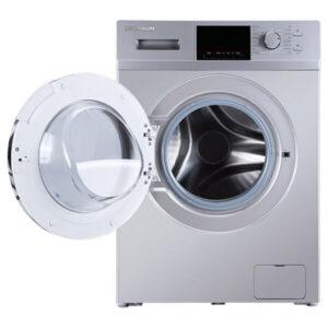 لباسشویی-ایکس-ویژن-مدل-XTW-804SBI-ظرفیت-8-کیلوگرمی-نقره-ای