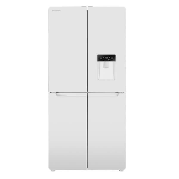 یخچال-فریزر-ایکس-ویژن-مدل-WF540-AWD-چهار-درب-سفید